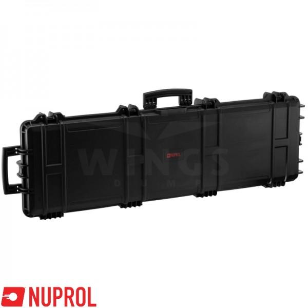 Wapenkoffer Nuprol Large zwart 102x33 cm.