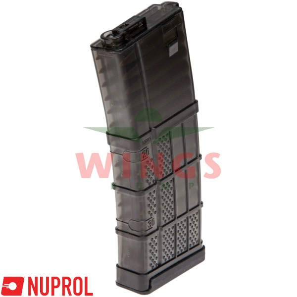 Nuprol M4 mid-cap magazijn 130 rounds clear