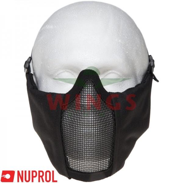 Airsoft masker Nuprol V6 zwart