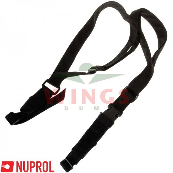 3-point sling Nuprol zwart