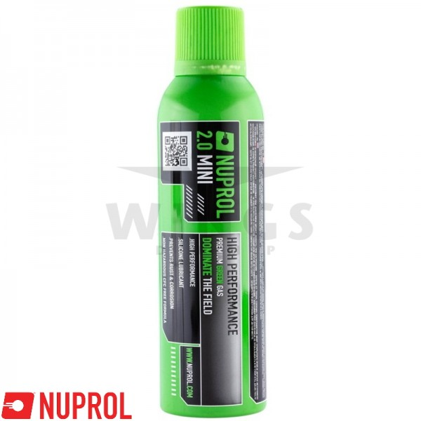 Nuprol premium green gas 2.0 mini
