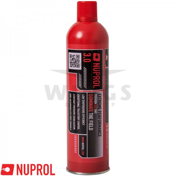 Nuprol premium red gas 3.0