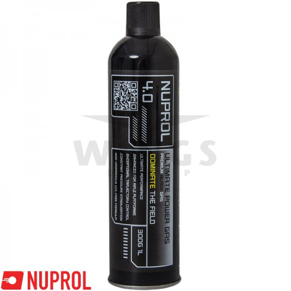 Nuprol premium black gas 4.0