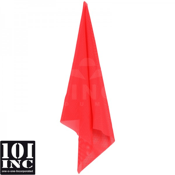 Airsoft red cloth hit sign