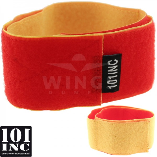Airsoft armstrap velcro rood-geel