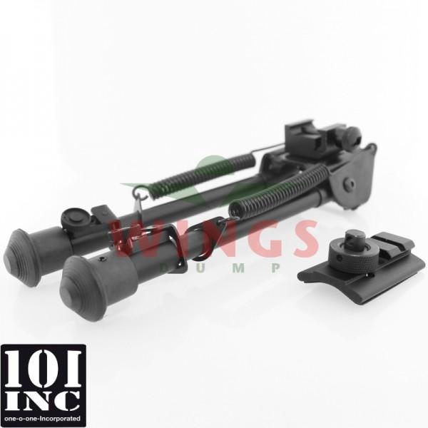 Bipod 101 Inc. metal extensible 22-33 cm.