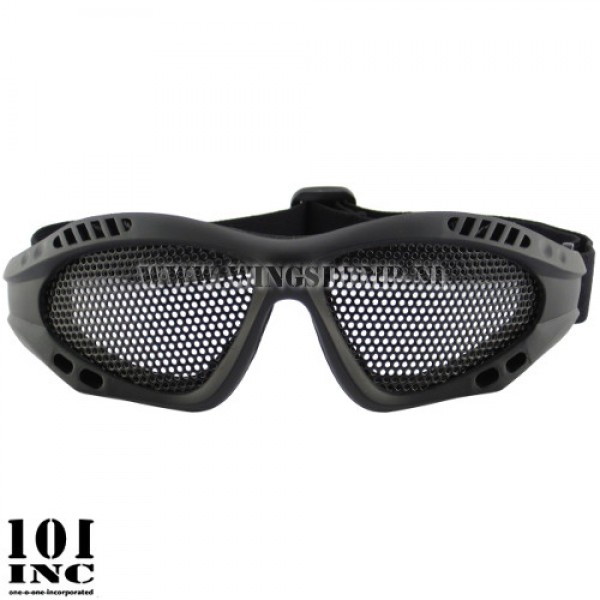Tactical gaasbril zwart