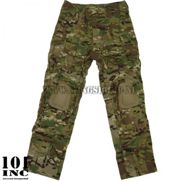 Combatbroek 101Inc. Warrior multi camo