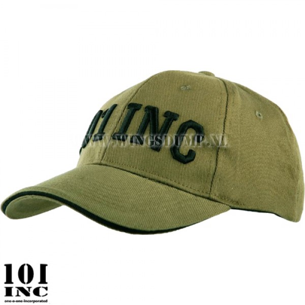 Cap flexfit 101 Inc. 3D groen