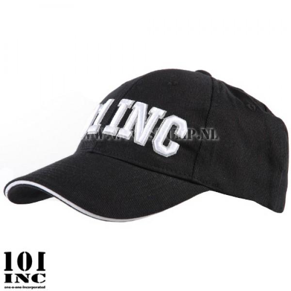 Cap flexfit 101 Inc. 3D zwart