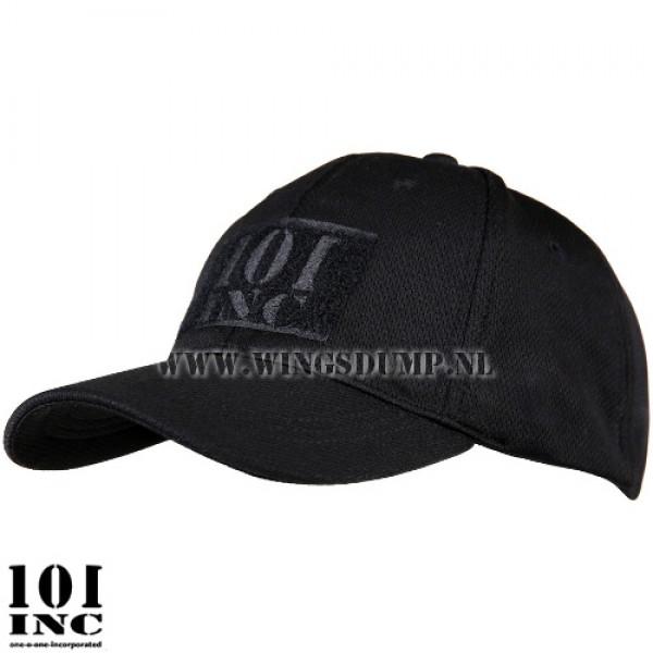 Cap flexfit 101 Inc. velcro zwart