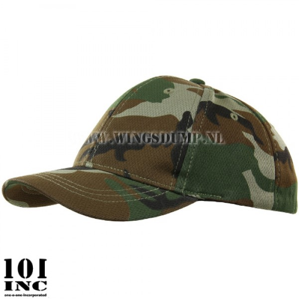 Kinder cap flexfit woodland camo