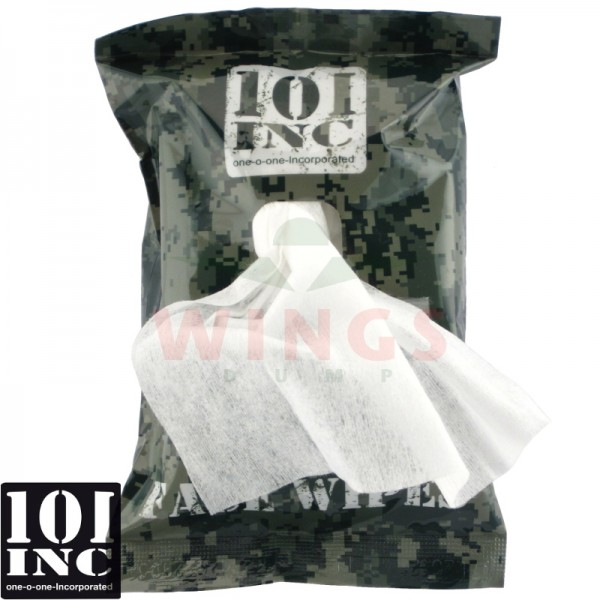 Camo paint face wipes