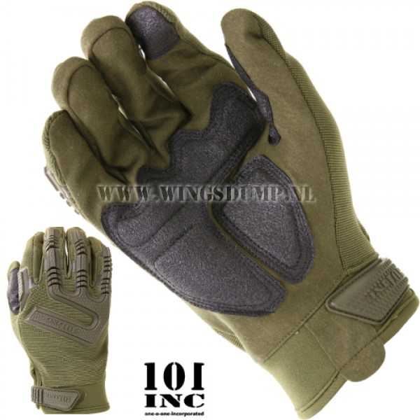 Handschoen 101 Inc. tactical groen