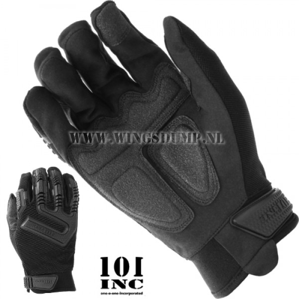 Handschoen 101 Inc. tactical zwart