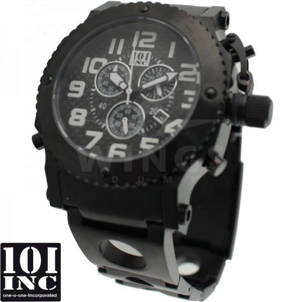 101 Inc. special OPS horloge deep black