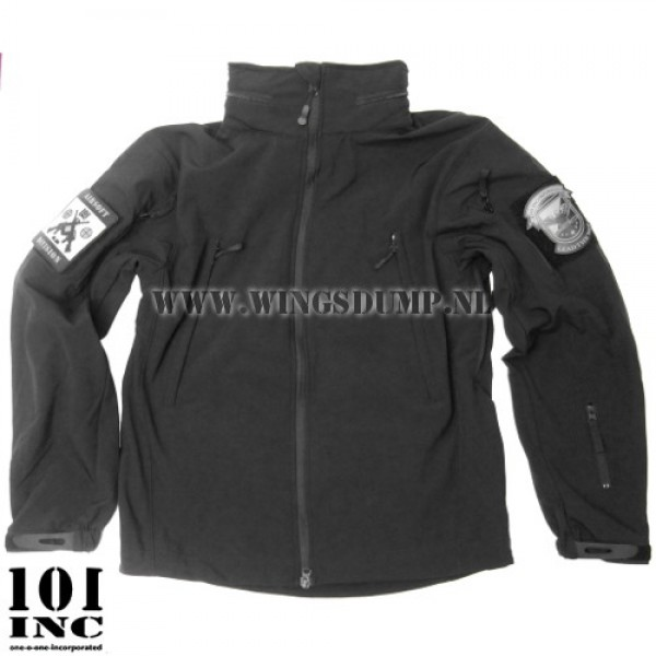 101Inc. tactical softshell jack zwart
