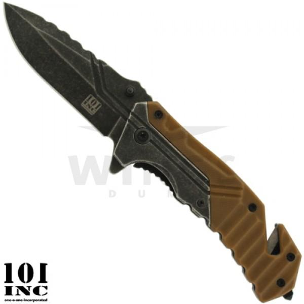 Lockmes 101 Inc. 197 mm Rescue coyote tan
