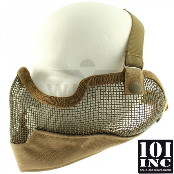 Airsoft masker hoog model coyote tan