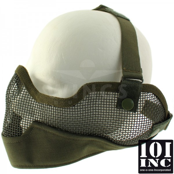 Airsoft masker hoog model groen