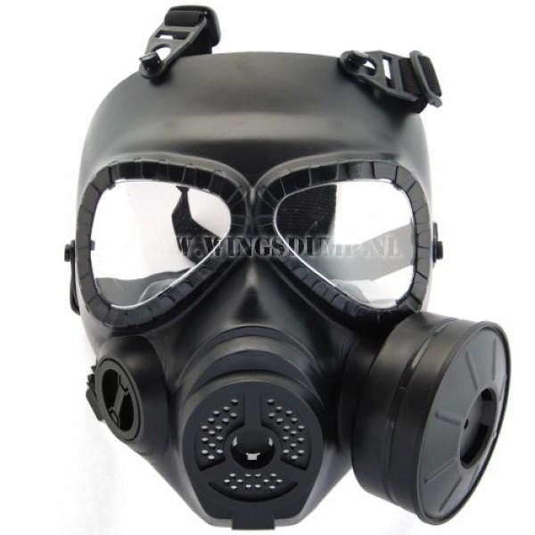 Airsoft masker M04 zwart