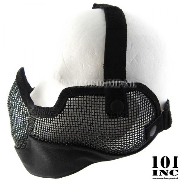 Airsoft masker hoog model zwart
