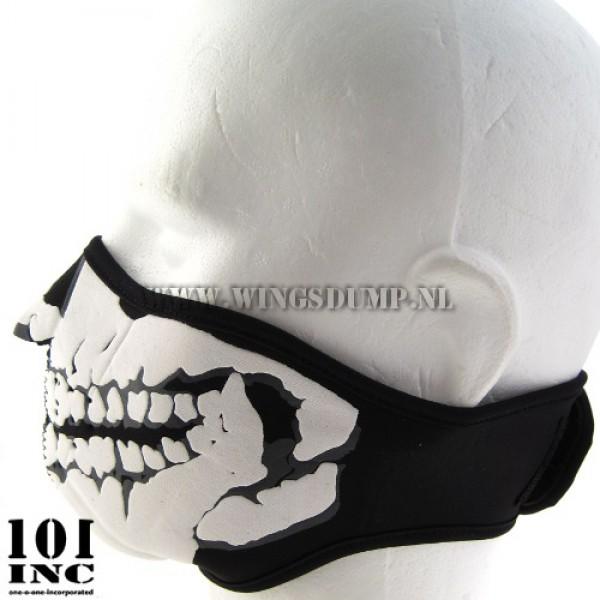 Skull mask 3D neopreen zwart