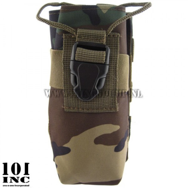 Molle system big pmr utility pouch woodland