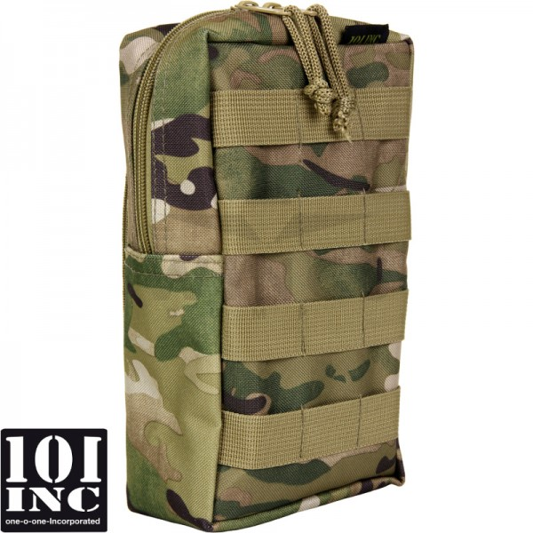 Molle system big upright pouch multicamo