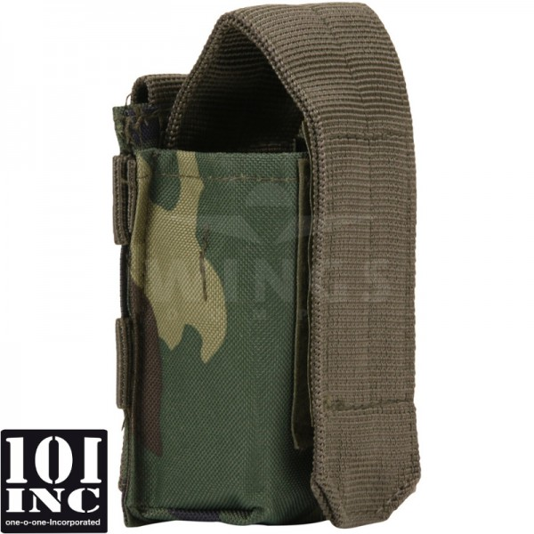 Molle system airsoft granaat pouch woodland