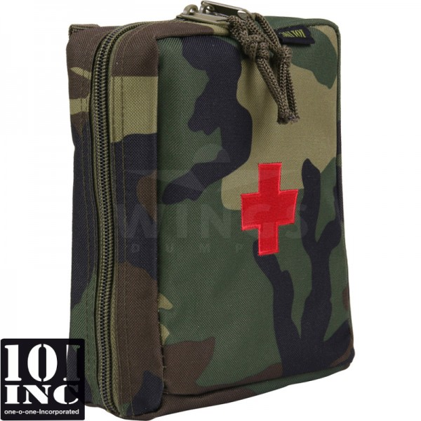 Molle system medic big pouch woodland