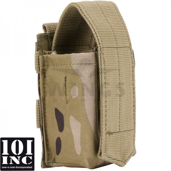 Molle system airsoft granaat pouch DTC camo