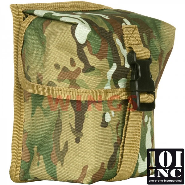 Molle system big ration pouch DTC camo