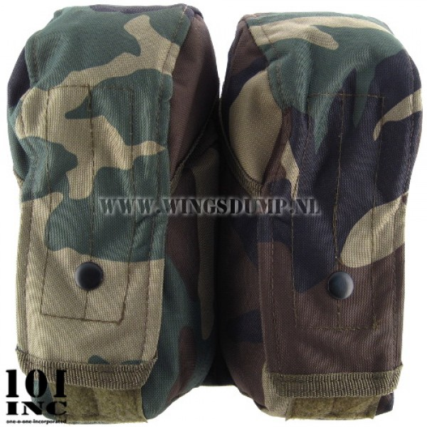 Molle system big utility pouch woodland