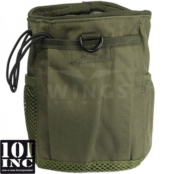 Molle system empty mags dump pouch groen