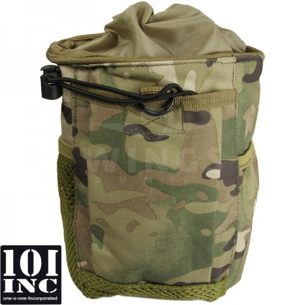 Molle system empty mags dump pouch multicamo