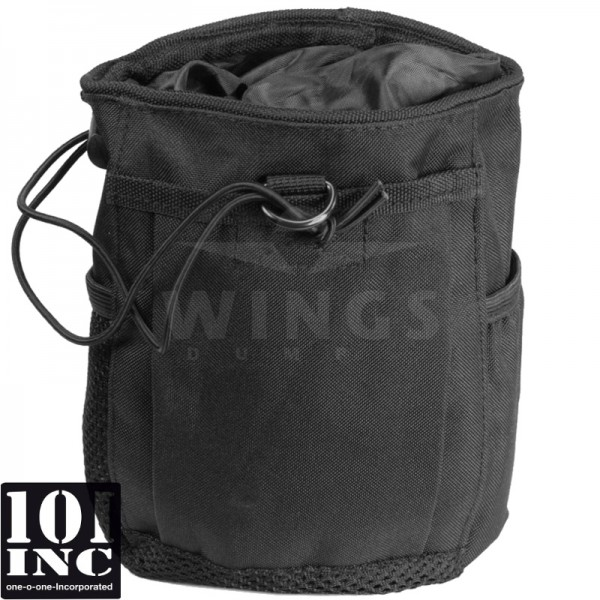 Molle system empty mags dump pouch zwart