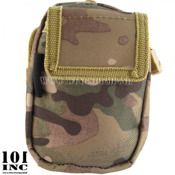 Molle system first responder small pouch DTC camo
