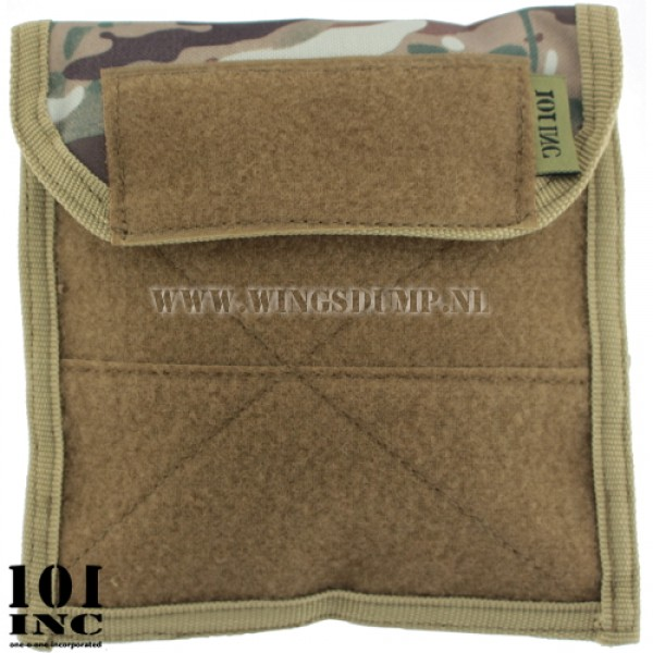 Molle system flat admin pouch multicamo