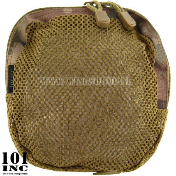 Molle system mesh organizer pouch DTC camo