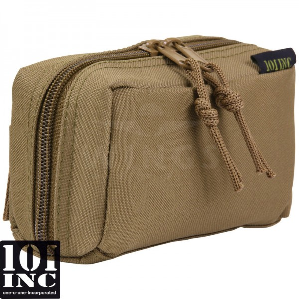 Molle system shot shell co2 pouch coyote tan