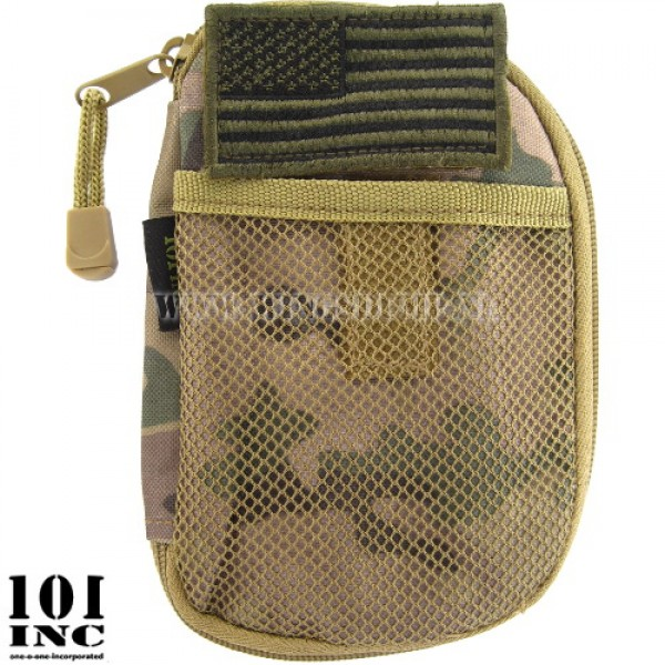 Molle system tactical wallet multicamo