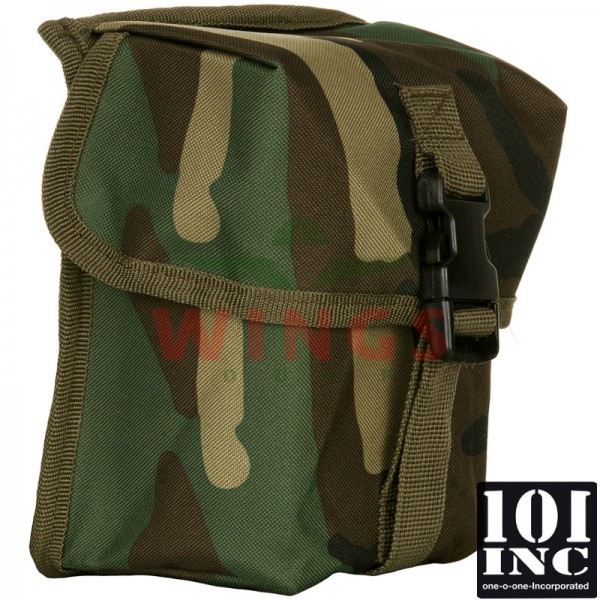 Molle system big ration pouch woodland