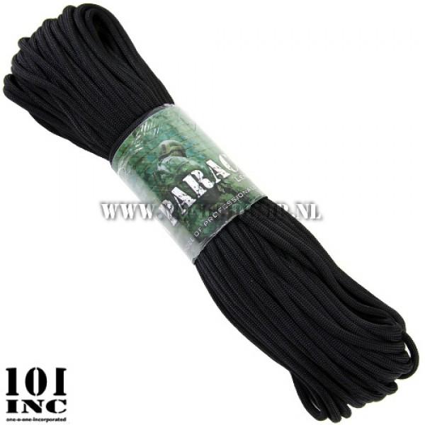 Paracord 7 strings 30 meter zwart