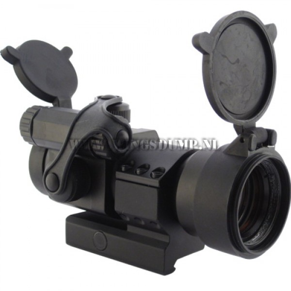 Scope met red dot 30 mm