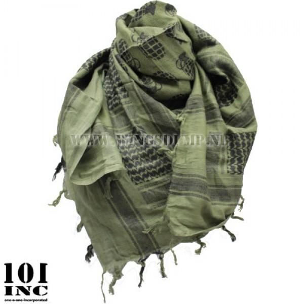 Plo sjaal handgranaat groen