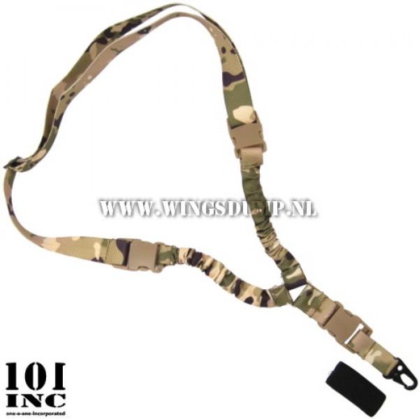 1-point sling met twee dempers multicamo