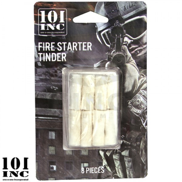 Firestarter tinder 101 Inc. 8 stuks