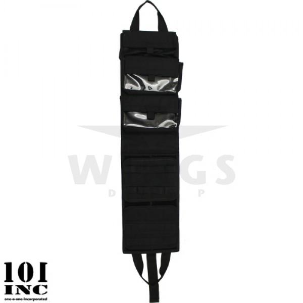 Medical bag foldable zwart 85x22 cm.