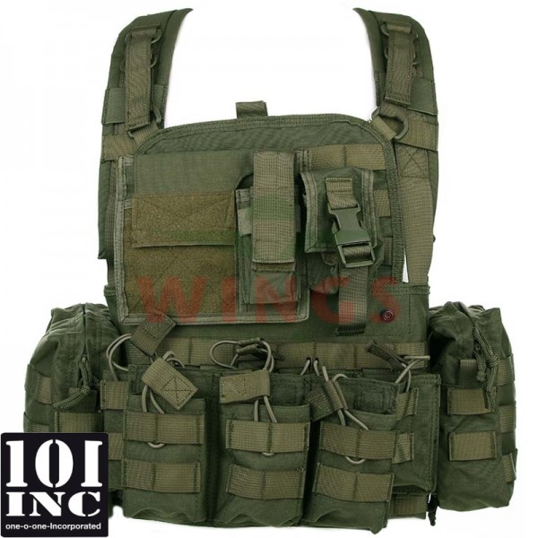 Tactical chest rig Operator groen